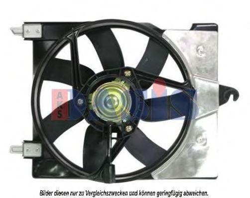 Вентилятор, охлаждение двигателя AKS DASIS 068027N