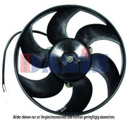 Вентилятор, охлаждение двигателя AKS DASIS 068028N