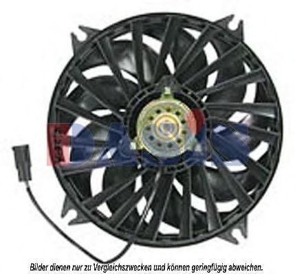 Вентилятор, охлаждение двигателя AKS DASIS 068031N