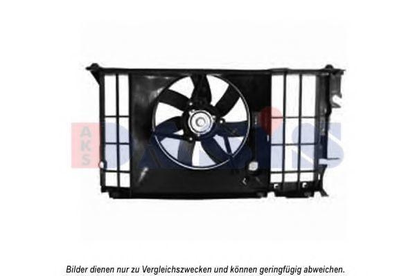 Вентилятор, охлаждение двигателя AKS DASIS 068035N