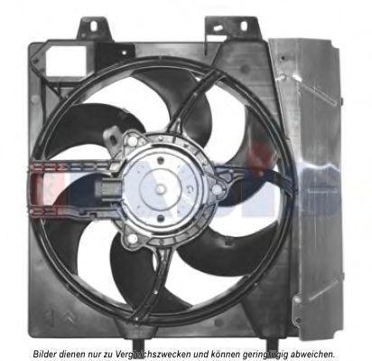 Вентилятор, охлаждение двигателя AKS DASIS 068530N