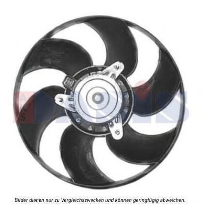 Вентилятор, охлаждение двигателя AKS DASIS 068670N