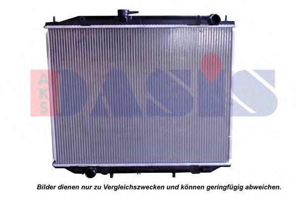 Радиатор, охлаждение двигателя AKS DASIS 072290N