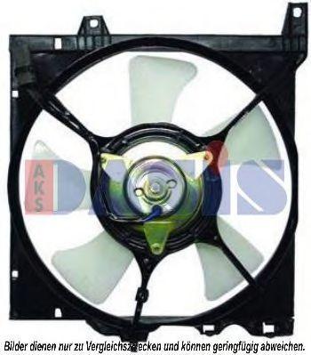 Вентилятор, охлаждение двигателя AKS DASIS 078008N