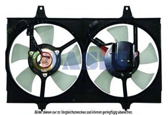 Вентилятор, охлаждение двигателя AKS DASIS 078040N