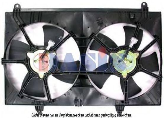 Вентилятор, охлаждение двигателя AKS DASIS 078045N