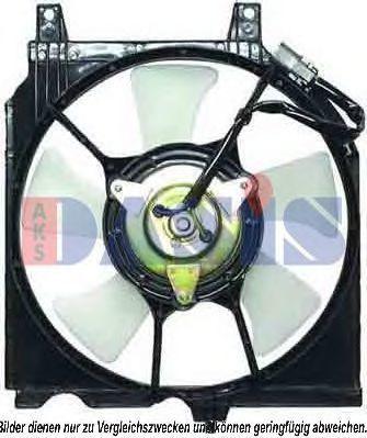 Вентилятор, охлаждение двигателя AKS DASIS 078058N