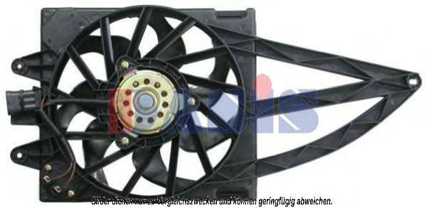 Вентилятор, охлаждение двигателя AKS DASIS 088001N