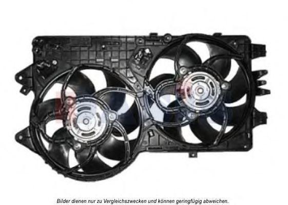 Вентилятор, охлаждение двигателя AKS DASIS 088004N