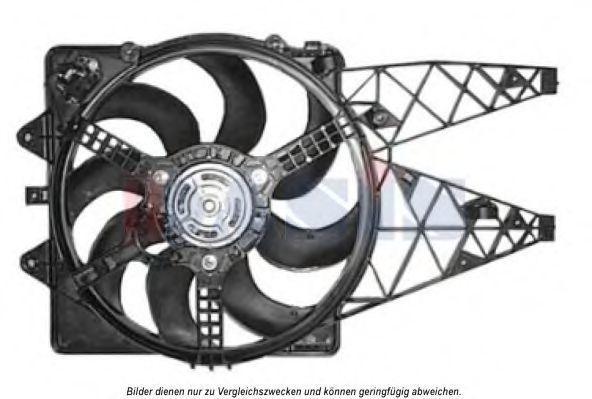 Вентилятор, охлаждение двигателя AKS DASIS 088034N