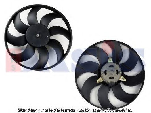 Вентилятор, охлаждение двигателя AKS DASIS 088037N