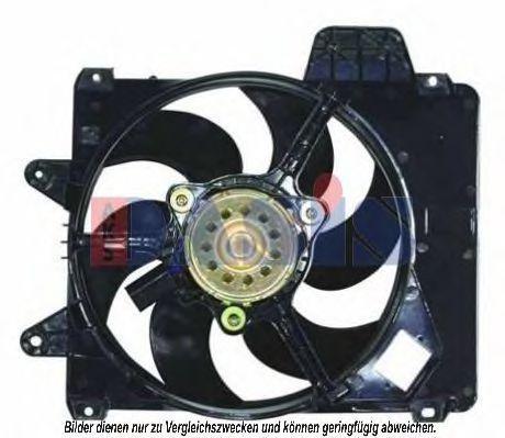 Вентилятор, охлаждение двигателя AKS DASIS 088044N