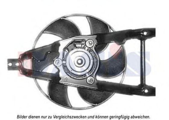 Вентилятор, охлаждение двигателя AKS DASIS 088050N