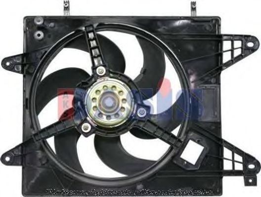 Вентилятор, охлаждение двигателя AKS DASIS 088053N