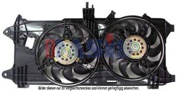 Вентилятор, охлаждение двигателя AKS DASIS 088062N