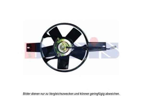Вентилятор, охлаждение двигателя AKS DASIS 088071N