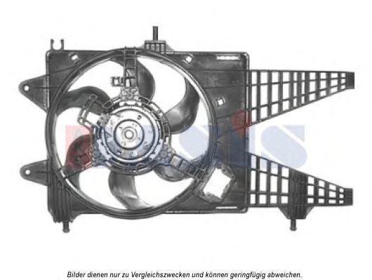 Вентилятор, охлаждение двигателя AKS DASIS 088081N