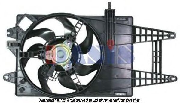 Вентилятор, охлаждение двигателя AKS DASIS 088083N