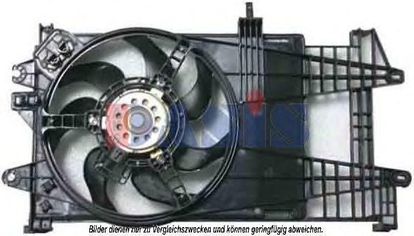 Вентилятор, охлаждение двигателя AKS DASIS 088084N