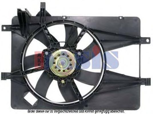 Вентилятор, охлаждение двигателя AKS DASIS 088085N
