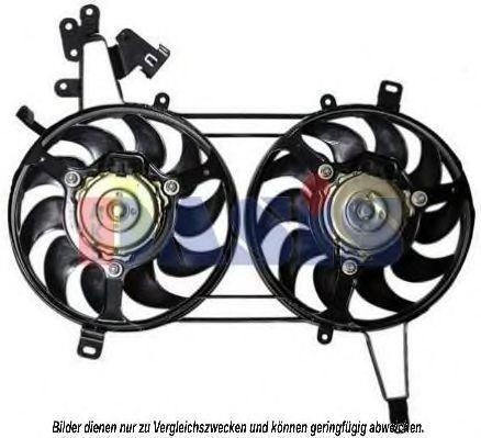 Вентилятор, охлаждение двигателя AKS DASIS 088095N