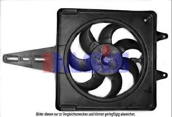 Вентилятор, охлаждение двигателя AKS DASIS 088310N
