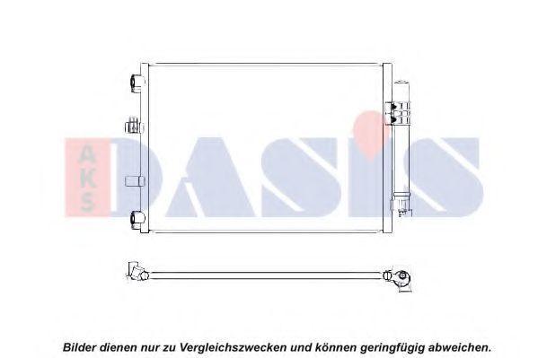 Конденсатор, кондиционер AKS DASIS 092052N