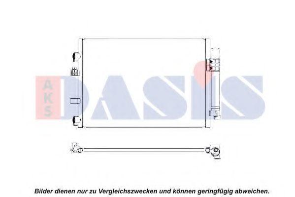 Конденсатор, кондиционер AKS DASIS 092055N