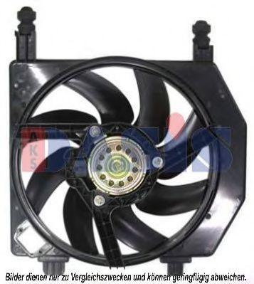 Вентилятор, охлаждение двигателя AKS DASIS 098039N
