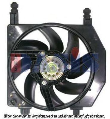Вентилятор, охлаждение двигателя AKS DASIS 098041N