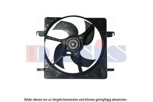 Вентилятор, охлаждение двигателя AKS DASIS 098047N