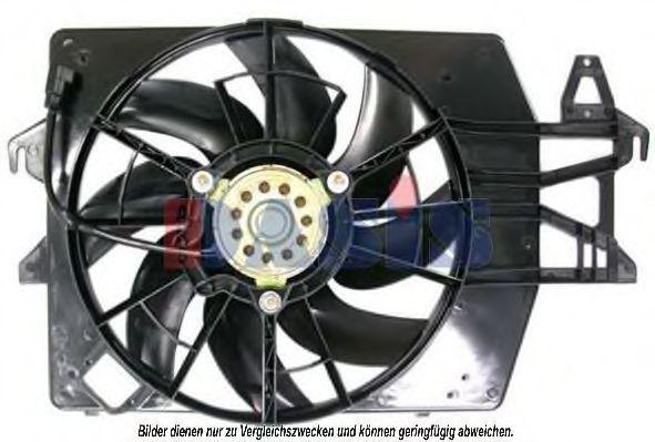 Вентилятор, охлаждение двигателя AKS DASIS 098061N