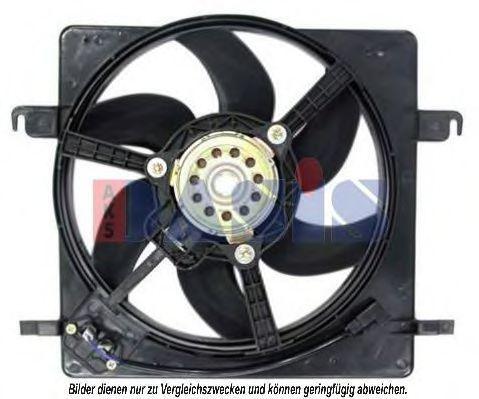 Вентилятор, охлаждение двигателя AKS DASIS 098067N