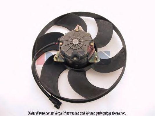 Вентилятор, охлаждение двигателя AKS DASIS 098080N