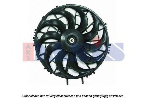 Вентилятор, охлаждение двигателя AKS DASIS 098088N