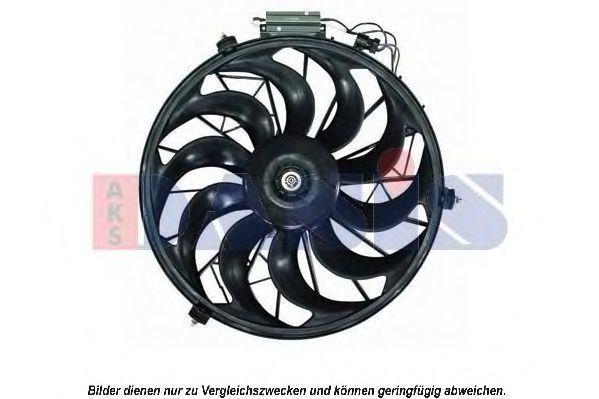 Вентилятор, конденсатор кондиционера AKS DASIS 098089N