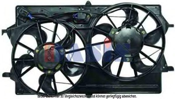 Вентилятор, охлаждение двигателя AKS DASIS 098092N