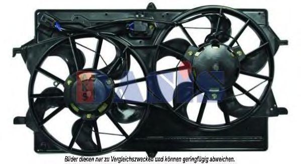 Вентилятор, охлаждение двигателя AKS DASIS 098094N