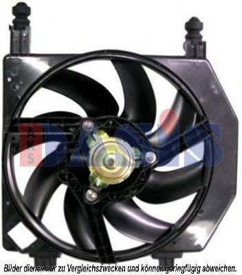 Вентилятор, охлаждение двигателя AKS DASIS 098101N