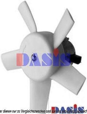 Вентилятор, охлаждение двигателя AKS DASIS 098110N