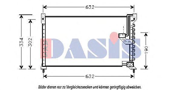 Конденсатор, кондиционер AKS DASIS 102030N
