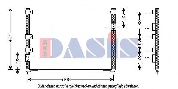 Конденсатор, кондиционер AKS DASIS 112010N