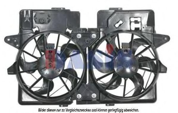Вентилятор, охлаждение двигателя AKS DASIS 118000N