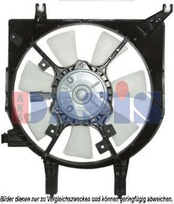 Вентилятор, охлаждение двигателя AKS DASIS 118001N