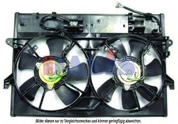 Вентилятор, охлаждение двигателя AKS DASIS 118011N