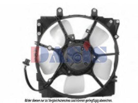 Вентилятор, охлаждение двигателя AKS DASIS 118012N