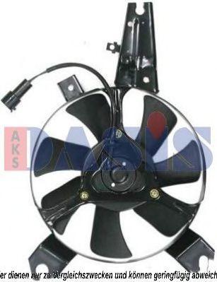 Вентилятор, охлаждение двигателя AKS DASIS 118016N