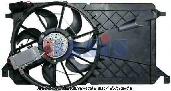 Вентилятор, охлаждение двигателя AKS DASIS 118020N