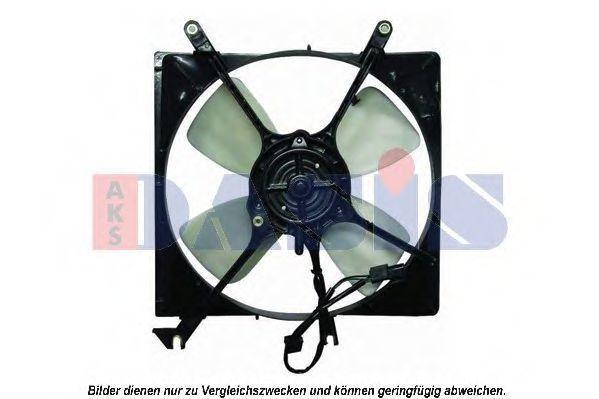 Вентилятор, охлаждение двигателя AKS DASIS 118025N