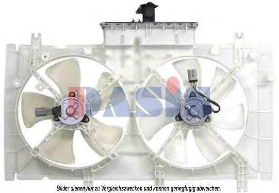Вентилятор, охлаждение двигателя AKS DASIS 118058N